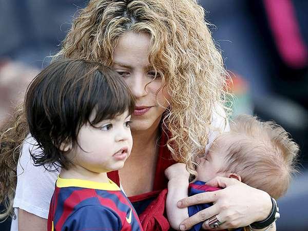 Gemes! Milan dan Sasha, Putra Shakira yang Super Cute